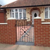 Bespoke Steel Gate