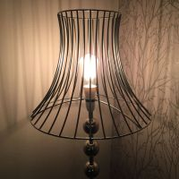 Lamps shades wire lampshade wire lampshade for table lamp keyboard keysfo Choice Image