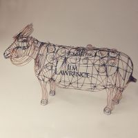 Wire Sculptured Ram