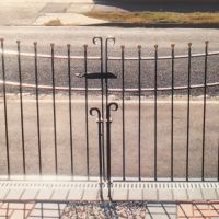 Curved Gates